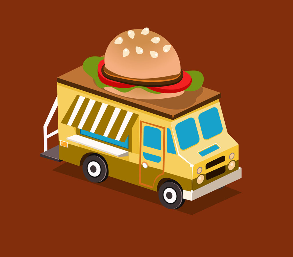 Five Benefits of Starting a Burger Food Truck