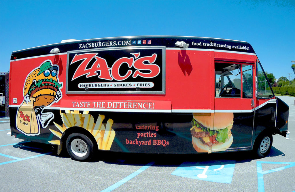 Introducing the Zac's Burger Bus – The Ultimate Mobile Business!