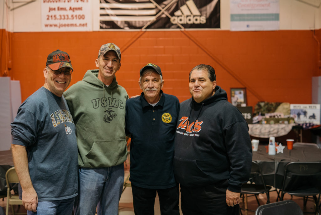 Zac's Feeds Local Vets At Army-Navy Game Event
