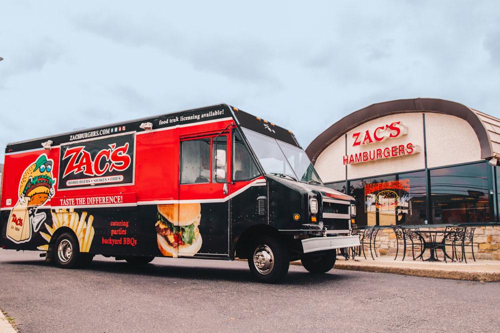 burger food truck Delaware County PA